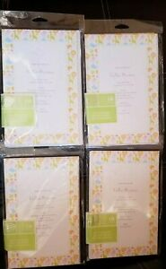 Baby Shower Print Your Own Invitations Baby Animals 4 -12 ct packs 48 invite lot
