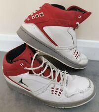 2013 Nike Air Jordan 1 Flight Chicago Home White Red Wite UK 11 - 372704 124
