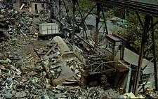 Postcard Metal Scrap Yard unused