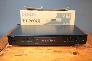 Denon TU-260L II Tuner RDS AM-FM Stereo Tuner Hi Fi Precision Audio Component