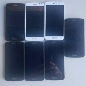 LOT 7 pcs LG Volt LS740 - 8GB - Black (Boost Mobile)- FOR PARTS - AS IS READ