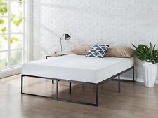 Solid Metal Frame King Size Bedroom Bed Platform Modern Desk Sofa Set 4 Mattress