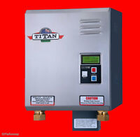 Titan N-210 Tankless Water Heater - NEW Digital SCR4 Model - Free Shipping USPS