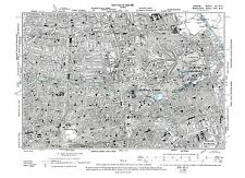 Old map Hackney, Shoreditch, Bethnal Green, Balls Pond 1896 London repro 7-NE
