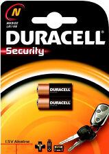 2 Duracell N 910A 1.5v Alkaline Batteries LR1 MN9100 E90 AM5 KN