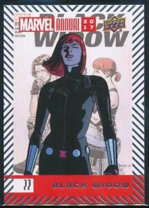 2018 Marvel Annual 2017 Trading Card #77 Black Widow
