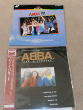 "ABBA ""The Movie"" (UK PAL) and ""Live In Concert"" (Japan NTSC) LaserDiscs"