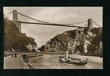 Gloucestershire CLIFTON  pleasure paddle steamer used 1918 RP PPC
