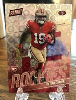 GEM! SSP #8/10 DEEBO SAMUEL 2019 PANINI NATIONAL SILVER PRIZM ROOKIE RC 49ers