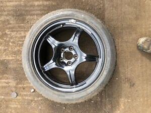 "Mercedes 18"" spare alloy wheel"