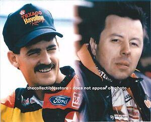 DAVEY ALLISON TEXACO ALAN KULWICKI HOOTERS NASCAR WINSTON CUP 8 X 10 PHOTO