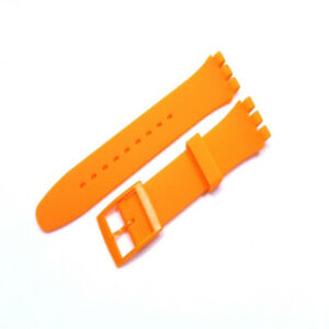 Wrist Watch Band Strap For Swatch 16mm 17mm 19mm 20mm Rubber Silicone Watchband