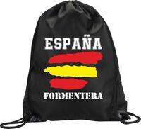 BACKPACK BAG FORMENTERA SPAIN GYM HANDBAG FLAG SPORT