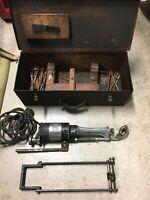 Winona tool MFG in the block crankshaft grinder intheblock 110v model A2 No.4303