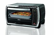 Oster Large Capacity Countertop 6-Slice Digital Convection Toaster Oven, Black