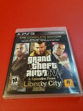 New listing Grand Theft Auto Iv Complete Edition (Sony PlayStation 3, 2008) Complete