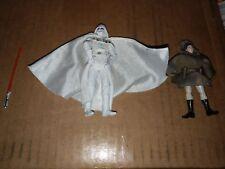 Star Wars White Darth Vader And Princess Leia Figure Lot 2008