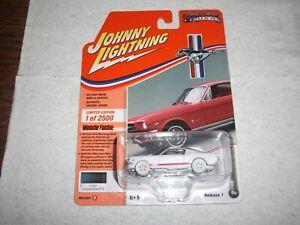 2020 JOHNNY LIGHTNING MUSCLE CARS USA 1965 FORD MUSTANG GT WHITE LIGHTNING #2