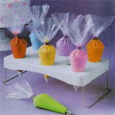 Hot Russian Icing Piping Nozzles Tips Pastry Cake Tips Bags Stand Holder Shelf