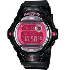 Casio Baby-G Womens Wrist Watch BG169R-1B  BG-169R-1B Digital Black Pink