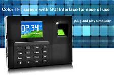 28tft Backup Battery Fingerprint Recording Amprfid Time Attendance With Tcpip A9