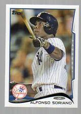 2014 Topps Baseball #276 Alfonso Soriano New York Yankees