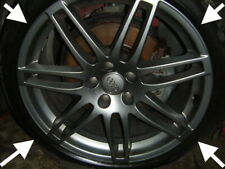 "AUDI TT TTS S LINE Genuine Black EDITION 19"" alloy wheels MK2 8J RS4 Tyres"