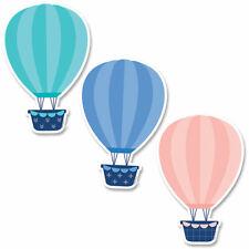 """Calm & Cool Hot Air Balloons 6"""" Designer Cut-Outs, 36/Pack Creative Teaching Pre"""