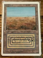 MTG Magic 1x x1 - Scrubland Unlimited Ed HP