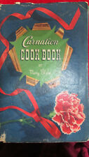 Carnation Cook Book by Mary Blake Vintage 1939 Collectible Cookbook 96 Pages