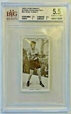 1938 Churchman's Boxing Personalities #35 Gene Tunney Beckett 5.5 Excellent +