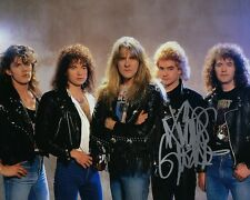 GFA Saxon Band Drummer * NIGEL GLOCKLER * Signed Autographed 8x10 Photo N1 COA