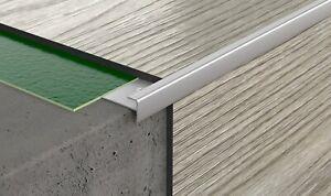 90 cm // 35.49'' LVT 3mm STAIR NOSING VINYL FLOORING STAIR  EDGE PROFILE TRIM