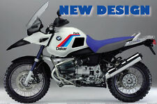 BMW Custom kit R1150GS ADV- Paris-Dakar look- aufkleber-stickers- autocollant