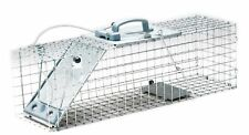 Havahart 1084 Easy Set One-Door Cage Trap for Rabbits, Skunks, Minks and Larg...