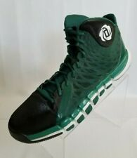 a2f25f95a6ad Adidas Derrick Rose 773 Ii Basketball Hi Top Green White Black Shoes Size 15