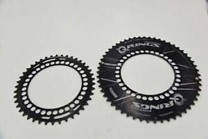 Rotor Q-Rings 55/42T TT Time Trial Triathlon Road Bike Chainrings 5 Bolt 130 BCD