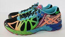 Asics Gel Noosa Tri 9 Neon Triathlon Athletic Running Shoes Womens Sz 8 T458N