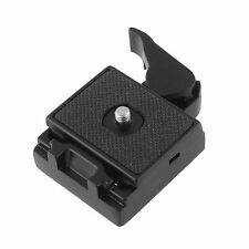 323 Quick Release Adapter For Camera Tripod DSLR with 200PL-14 QR Plate black