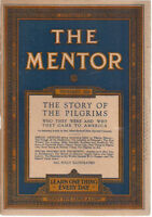 THE MENTOR illustrated magazine November 1920 The Story of the Pilgrims