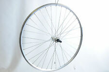 700C 622 - 17 ROAD HYBRID REAR WHEEL DUAL WALL RIM ALLOY 5,6, 7 SPD 130mm OLD