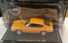 "DIE CAST "" LANCIA FULVIA SPORT 1.3 S - 1968 "" + TECA RIGIDA BOX2 SCALA 1/43"