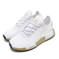 adidas Originals NMD_R1.V2 W BOOST White Gold Women Lifestyle Casual Shoe FW5450