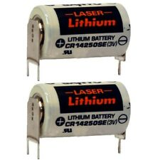 2 New BMW E30 SI Board Batteries  E23 E24 E28 E30 3Volt Lithium Ion