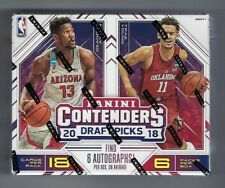 2017-18 Panini Contenders Draft Basketball Hobby Box