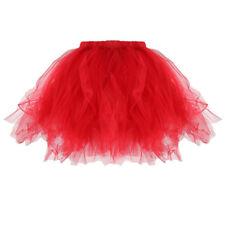 Adult/kid Fancy Dancewear Tutu Pettiskirt Princess Skirts Mini Dress Accessories