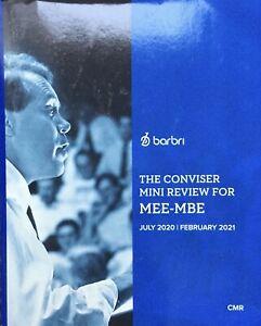 📚💖**GOOD**2020 ~ 2021 Barbri MEE - MBE The Conviser Mini Review (CMR)✅😎