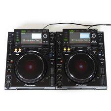 2er Paket: Pioneer CDJ 2000 DJ CD USB SD MP3 Multi Player + kostenloses T-Shirt