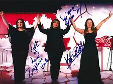 Kate Del Castillo, Angelica Vale & Angelica Maria Firmado 8x10 Foto Exacto Proof