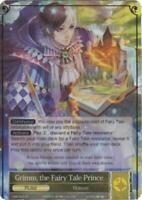 FoW Force of Will Crimson Moon's Fair  Grimm, the Fairy Tale Prince (R) (Fo NM